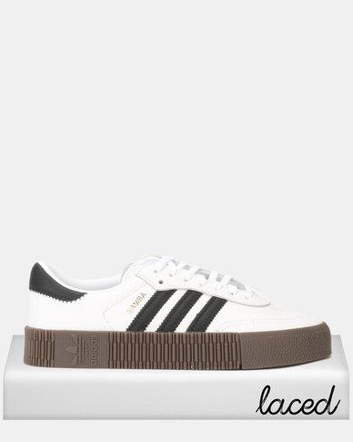 adidas Originals SAMBAROSE W Sneakers FTWWHT/CBLACK/GUM5
