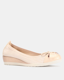 Butterfly Feet Millie Slip On Wedges