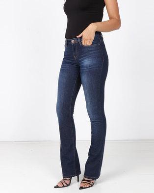 Soviet Dione Basic Bootleg Jeans Indigo