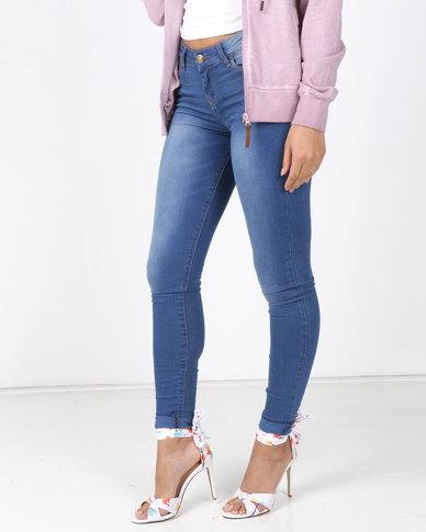 Soviet Juno Basic Skinny Jeans Indigo