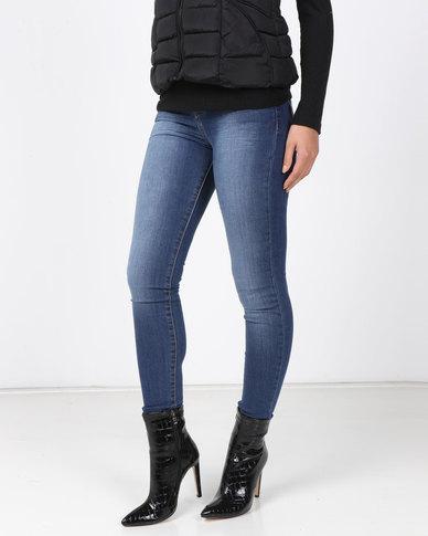 Soviet Lyssa Basic Skinny Jeans Indigo