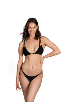 Bikini Love Judy Black Top