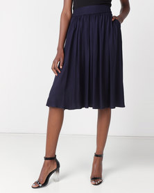non-european® Waistline Skirt Navy