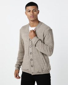 non-european® Male Cardy Natural