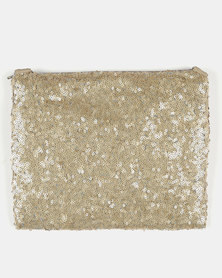 UB Creative Sequin Shoulder Bag Gold