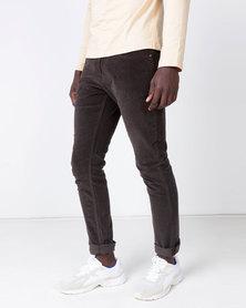 Cutty Corduroy Trousers Choc Brown