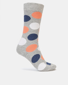 Merrell Formal Ladies Big Polka Dot Socks Multi