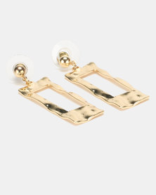 Lily & Rose Slither Drop Earrings Gold