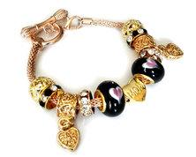 Urban Charm Gemmabella Rose Gold Bracelet - Mom