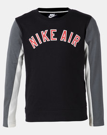 Nike Boys Air Lifestyle LS Top Black