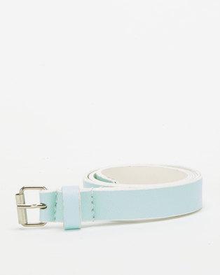 Little Lemon Shimmery Belt Mint