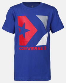 Converse CNVB Star Chevron Box Tee Blue/Red