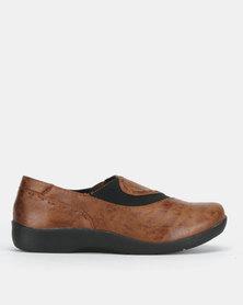 SOA Vega Slip On Shoes Mocha