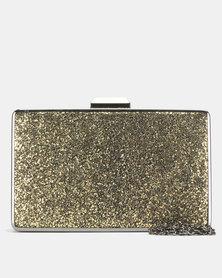Blackcherry Bag Octo Clutch Bag Pewter/Gold