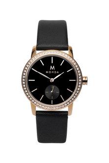 Mohda Ladies Elegance Watch- Black Rose