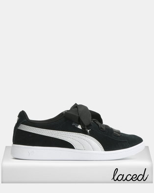 Puma Sportstyle Core Vikky Ribbon Jr Sneakers Black