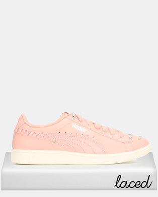 Puma Sportstyle Core Vikky Studs Jr Sneakers Salmon Pink