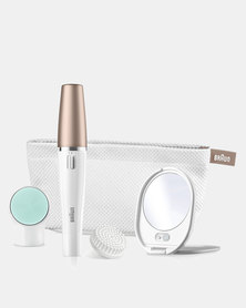 FaceSpa 851V 3 in 1 Facial Epilator & Cleansing Brush System by Braun