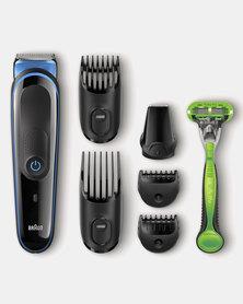 Multi Grooming Kit MGK3042 - 7 in 1 Face & Body Trimming Kit by Braun