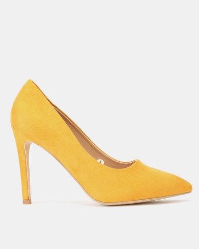 Legit Pointy Heels Mustard