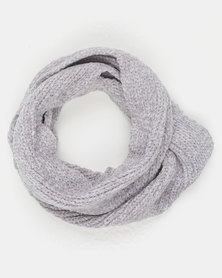 Legit Chenile Snood Grey