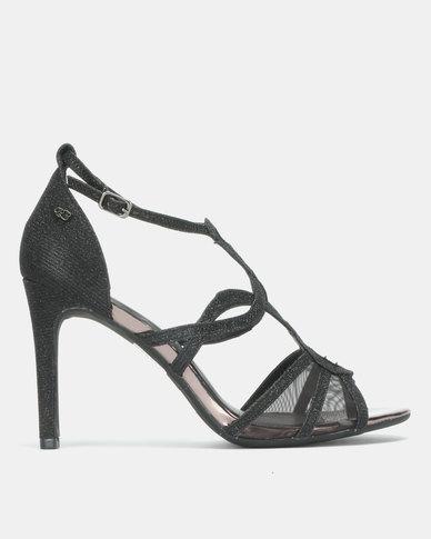 Miss Black Peruvian Ankle Strap Sandal Black