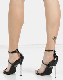 Miss Black Senna Ankle Strap Sandal Black
