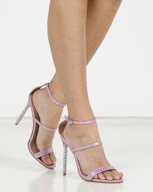 Miss Black Senna Ankle Strap Sandal Pink