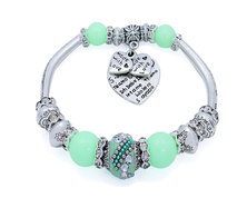 Urban Charm BOHObella Charm Bracelet - Mint