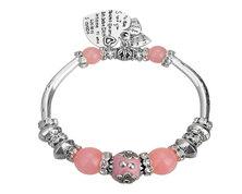 Urban Charm BOHObella Charm Bracelet - Blush Pink