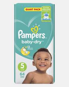 Pampers Active Baby Junior Giant Pack 64 Twin Pack