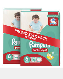 Pampers Active Baby Pants Xl Jumbo Pack 2x40 Twin Pack