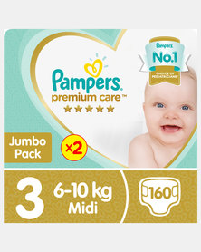 Pampers Premium Care Midi Jp 2X80 Twin Pack