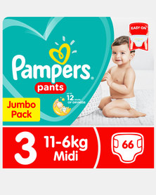 Pampers Active Baby Pants Jumbo Pack 66