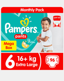 Pampers Active Baby Pants S6 Xl Maxi Box 96