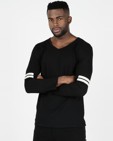 Utopia Long Sleeve T-shirt Black