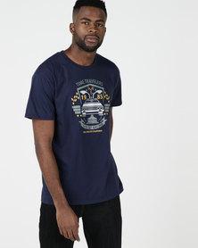 Utopia Time Travel T-shirt Navy