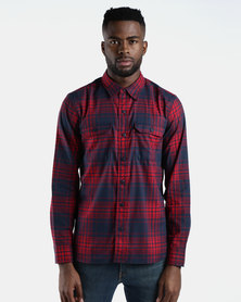 Classic Worker Shirt Red