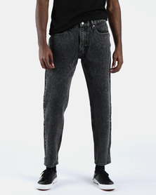 Hi-Ball Roll Jeans Black
