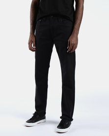 502™ Regular Taper Fit Pants Black