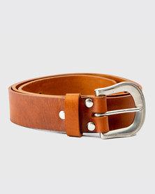 Zvitang Leather Belt Tan