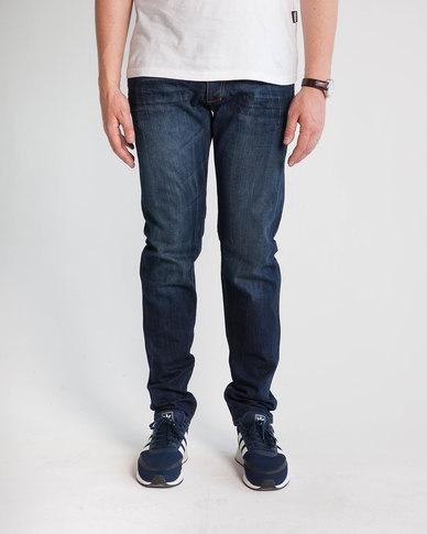 Emme Jeans Slimfit Selvedge Jeans Blue