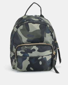 All Heart Front Pocket Backpack Camo