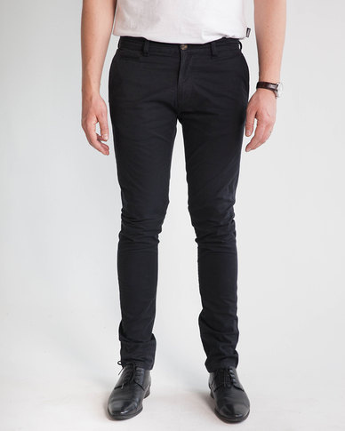 Emme Jeans Slim Fit Chino Black