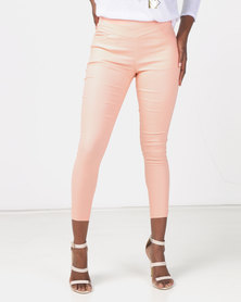 Utopia Bengaline Pants Peach