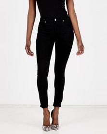 Brave Soul Skinny Jeans Black