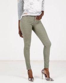 Brave Soul Skinny Jeans Khaki