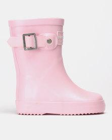 Shooshoos Wiley Wellington Boots Pink
