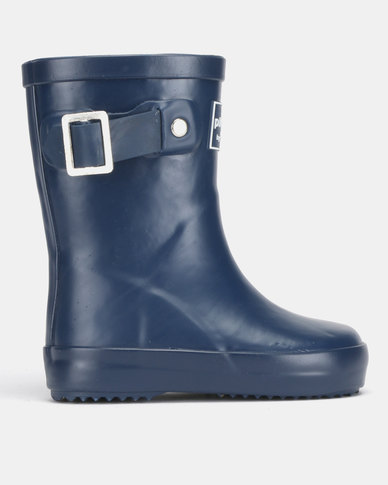 Shooshoos Puddle Wellington Boots Blue