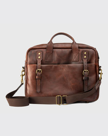 Zvitang Oxford Laptop Bag Burgundy